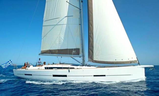 S/Y Mimosa, a Grand Large 560 built by Dufour in 2014, has been designed to satisfy customers seekin