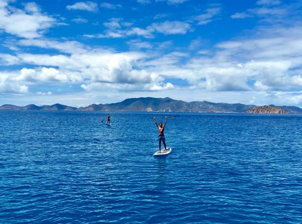 Paddle board races
