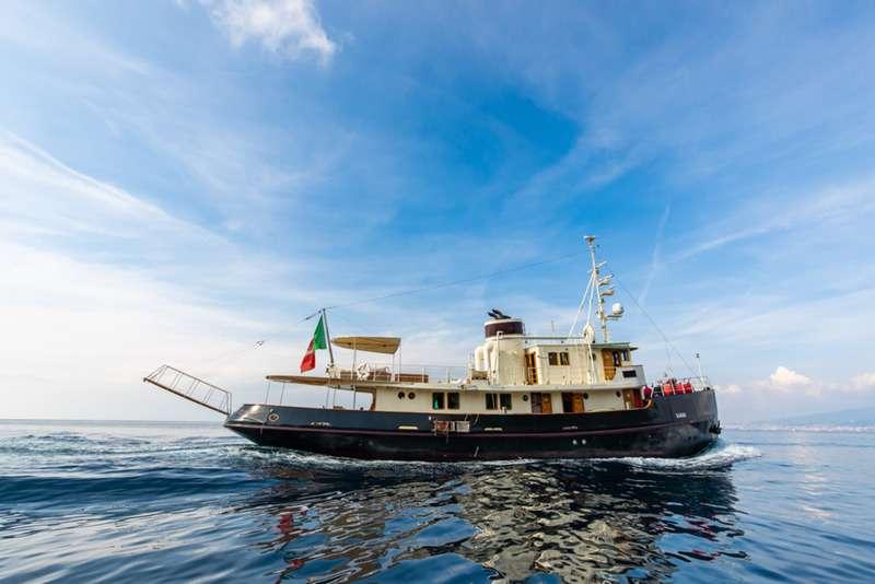 Motor Yacht DP MONITOR