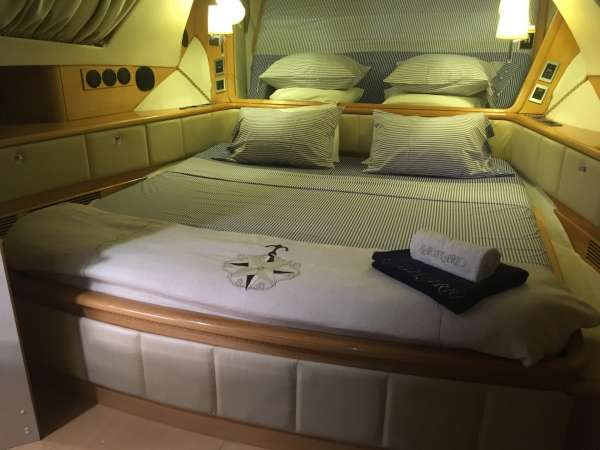Master Stateroom turned down