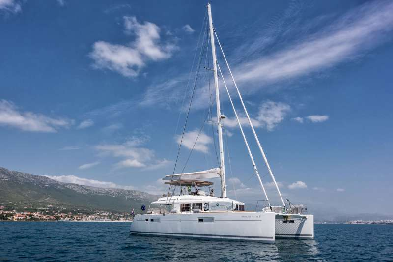 LAGOON 560 S2 Princess Seline joined our fleet in 2016.