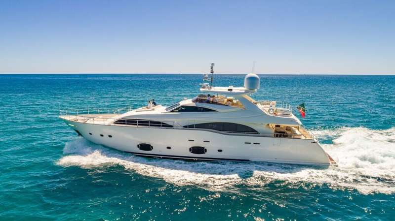 97 Ferretti CustomLine Luxury Yacht