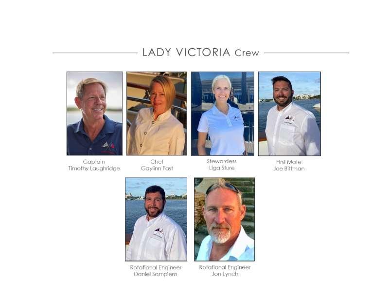 Crew of LADY VICTORIA