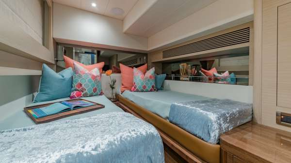 Twin Stateroom can convert to a King