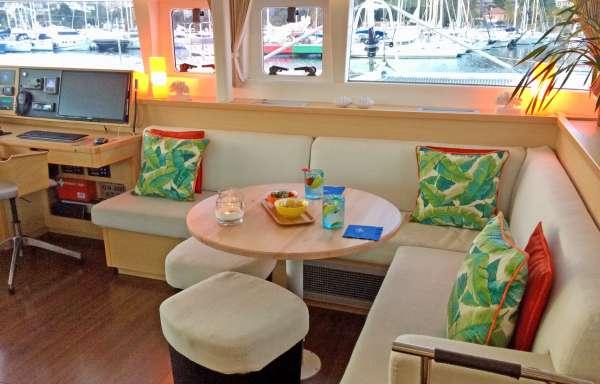 Bright and sunny salon