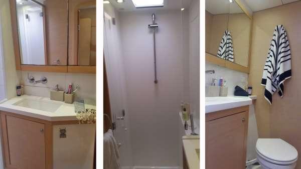 Nice size Guest Bath & Shower