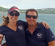 Captain Richard & Mate/Chef Alexandra
