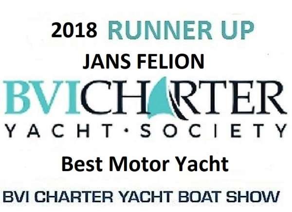 2018 Best Motor Yacht - Runner Up