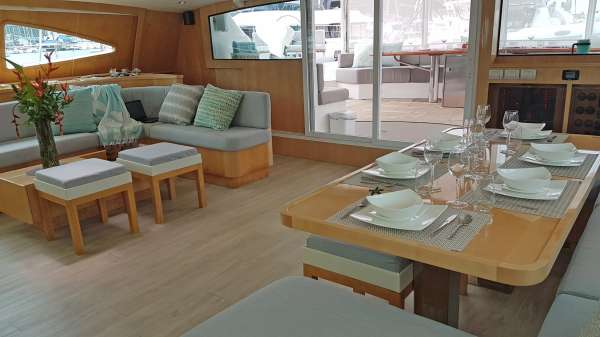 Dining Area of Main Salon