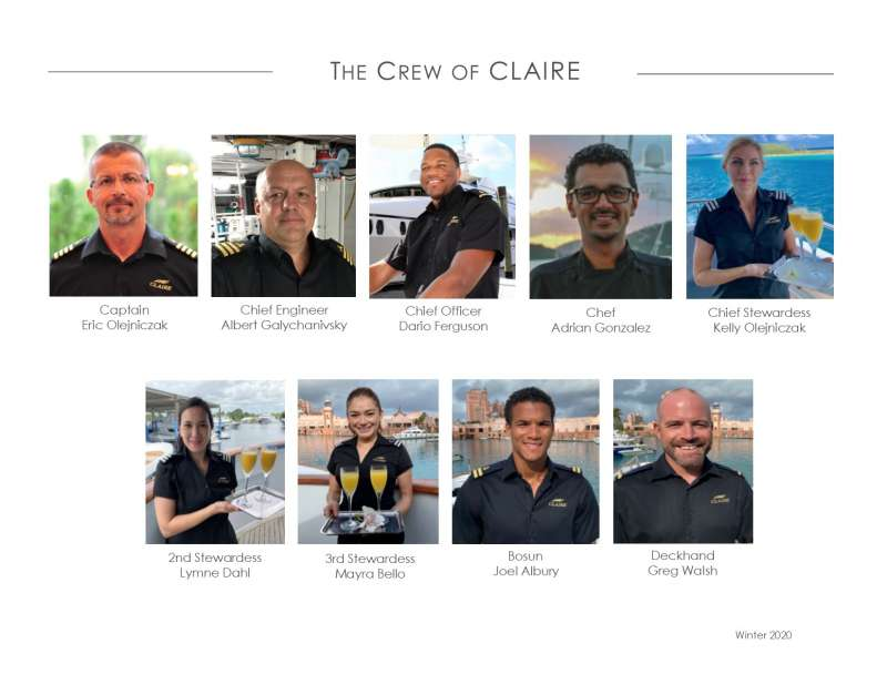 Crew of CLAIRE