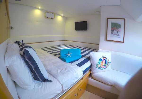 Aft guest queen suite