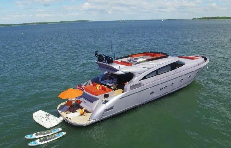 SILVER MAMA Luxury Yacht