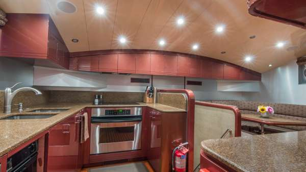 Galley with Country Kitchen