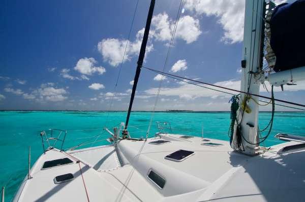 Beautiful Caribbean waters