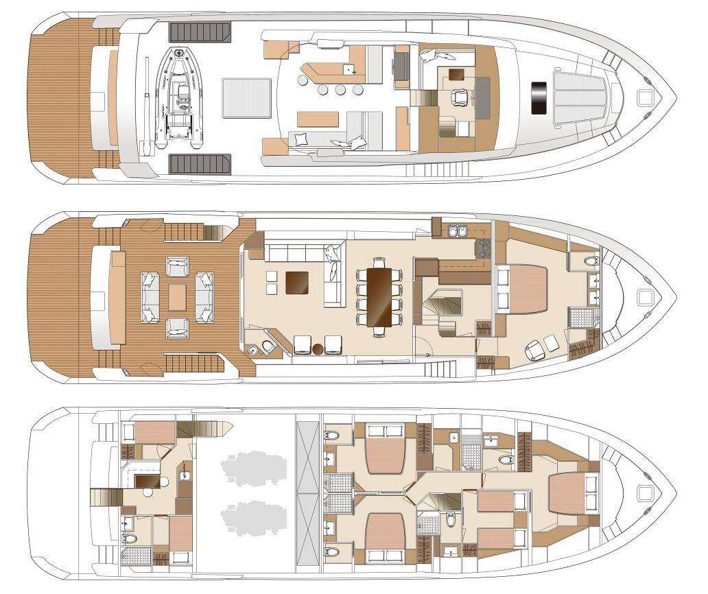 SEAGLASS 74 Layout