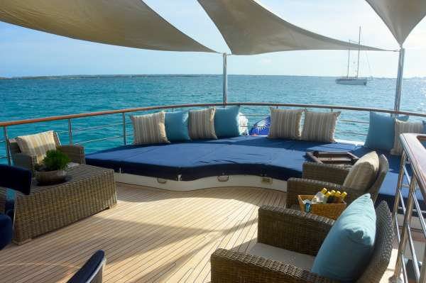 Bridge Deck Aft Sun Lounge