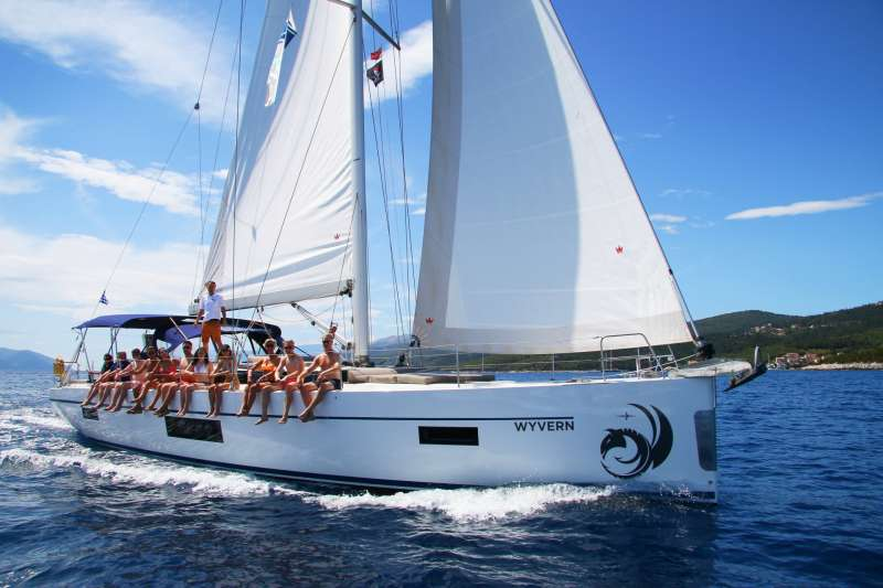Wyvern is our new Bavaria C57 - the perfect luxury sailing yacht. Built in 2018 and launched in Gree