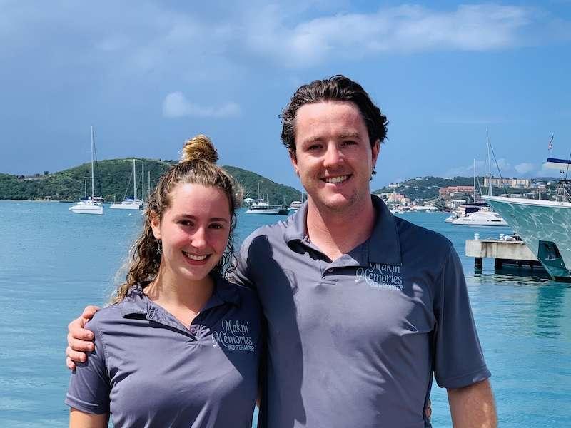Captain Keith & Chef Ellie
