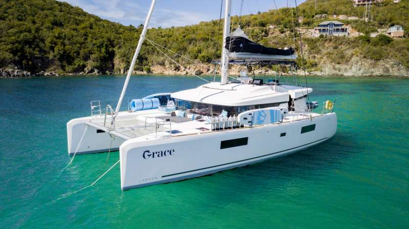 charter yacht Grace Lagoon 52