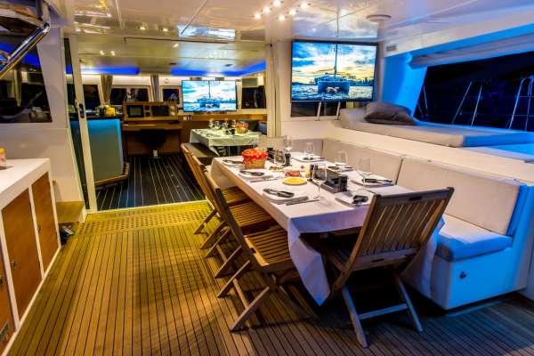 Cockpit Dining -  Evening