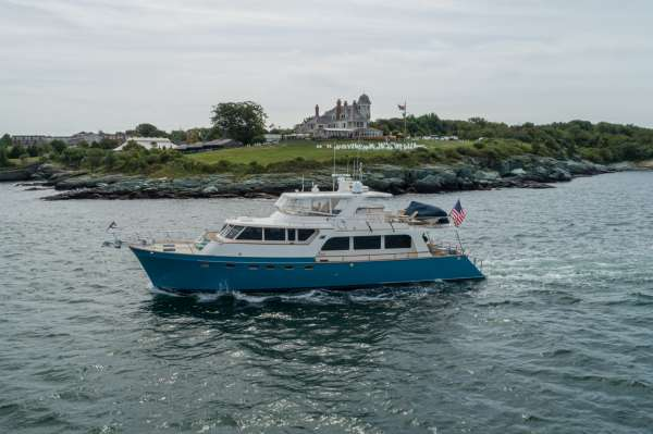 Halcyon Seas and New England Cruising