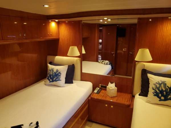 Guest Stateroom with Full & Twin