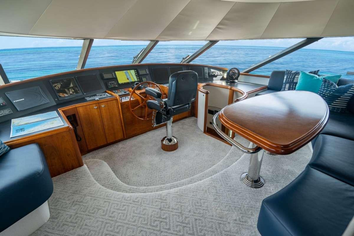 Pilothouse seating