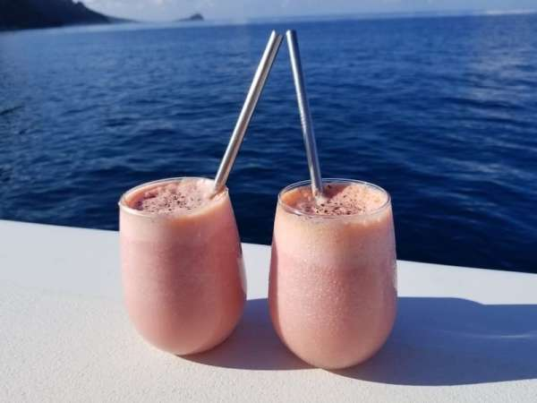 Specialty Cocktails served onboard