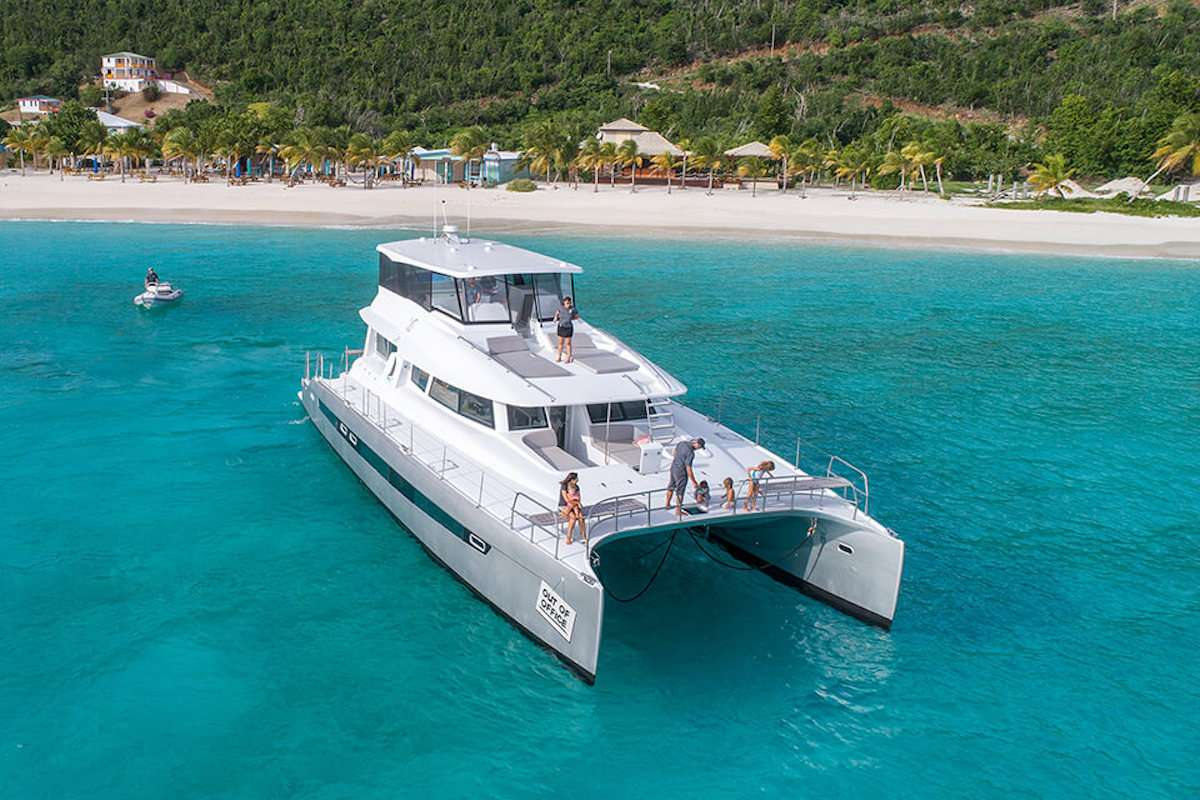 Yacht VOYAGE 650 Power Cat