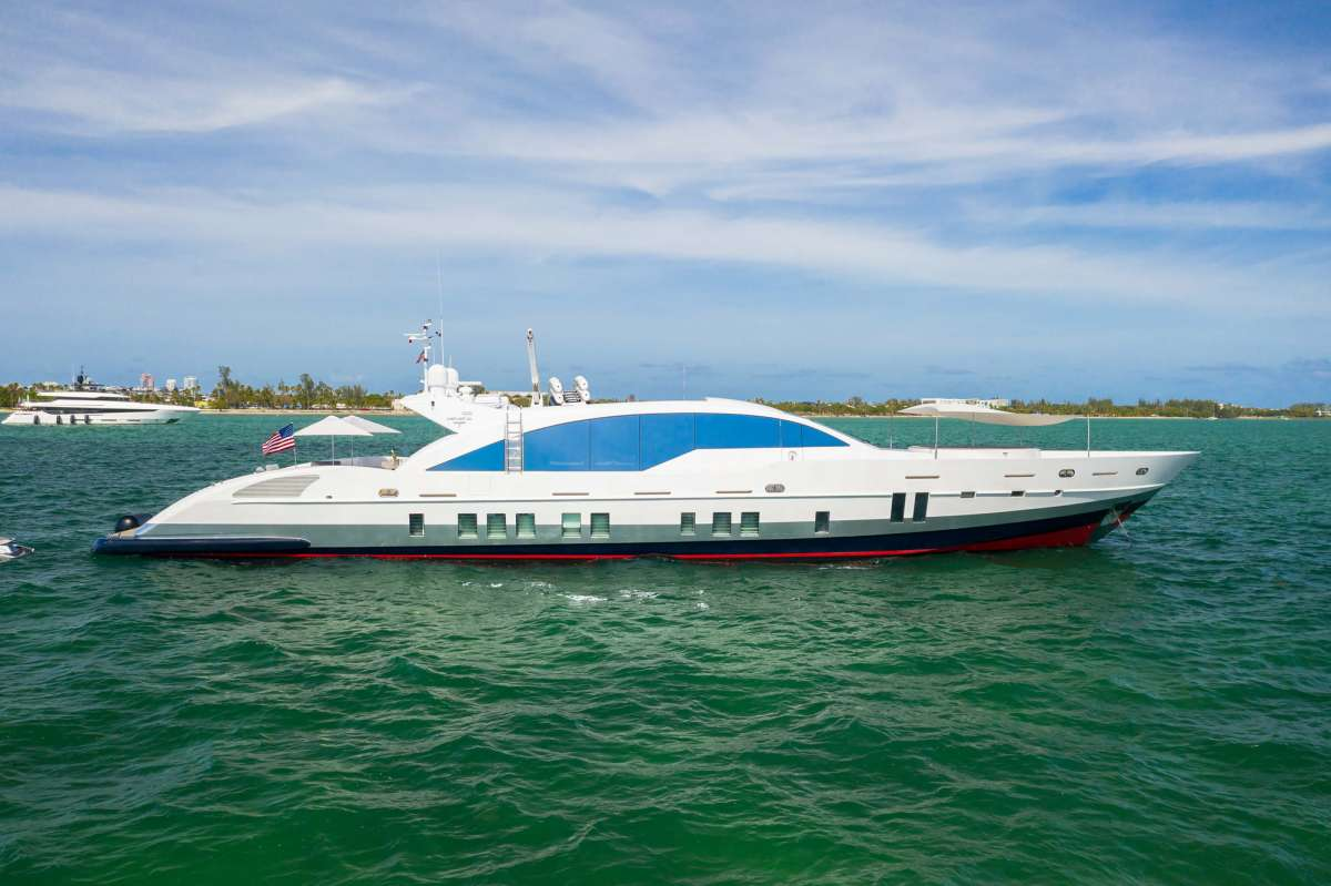 YCG 120 Luxury Yacht