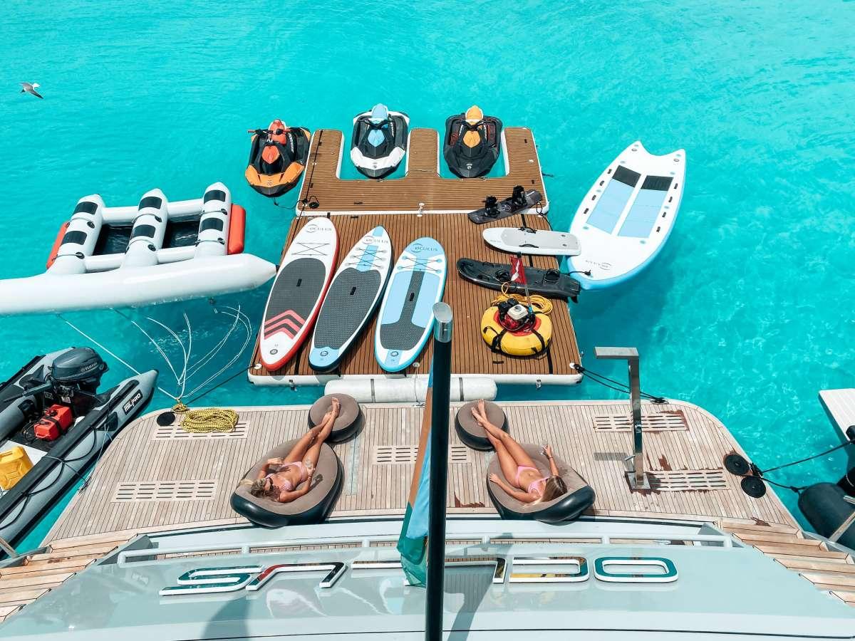 Swim Platform and Floating Dock