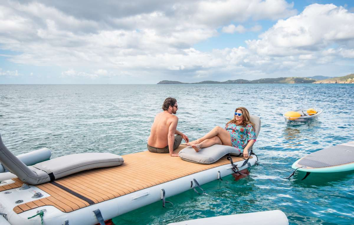 2 Sea Bob Underwater Scooters for guest use
