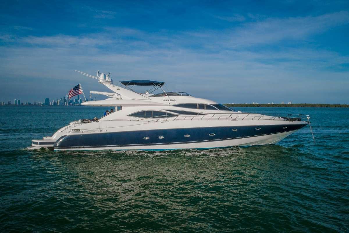 LeoLena Luxury Yacht