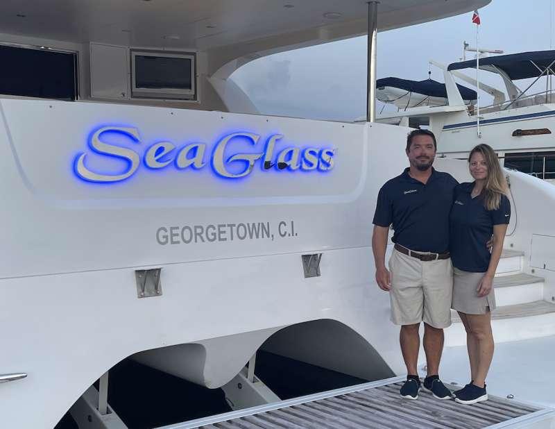 SEAGLASS 74 Crew