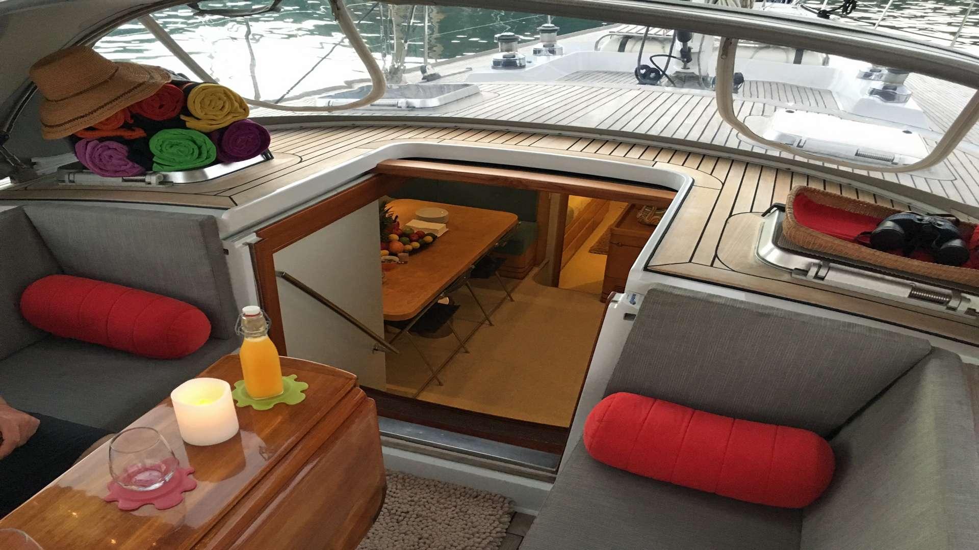 Comfortable cockpit