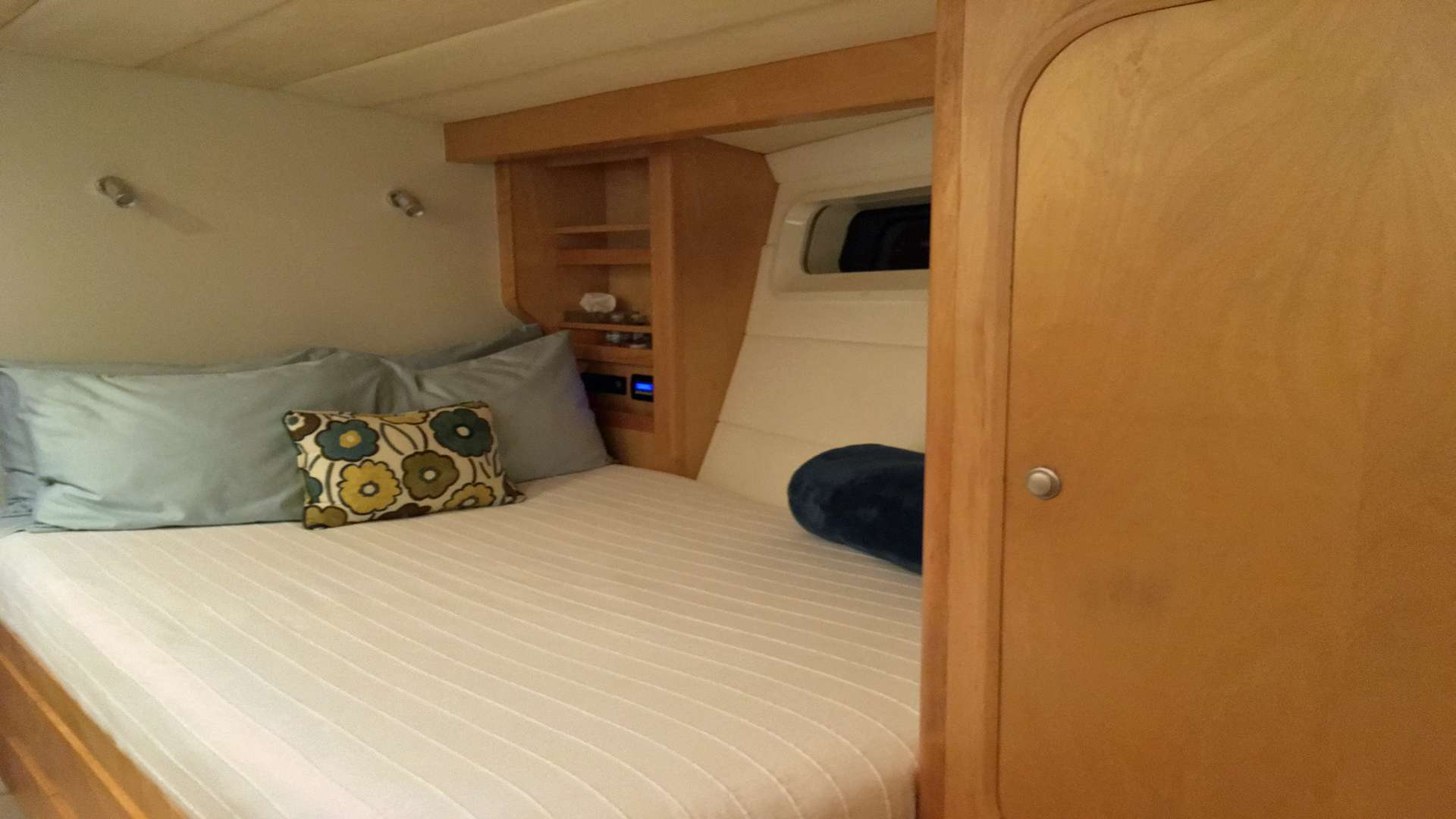 Forward Port Guest Cabin