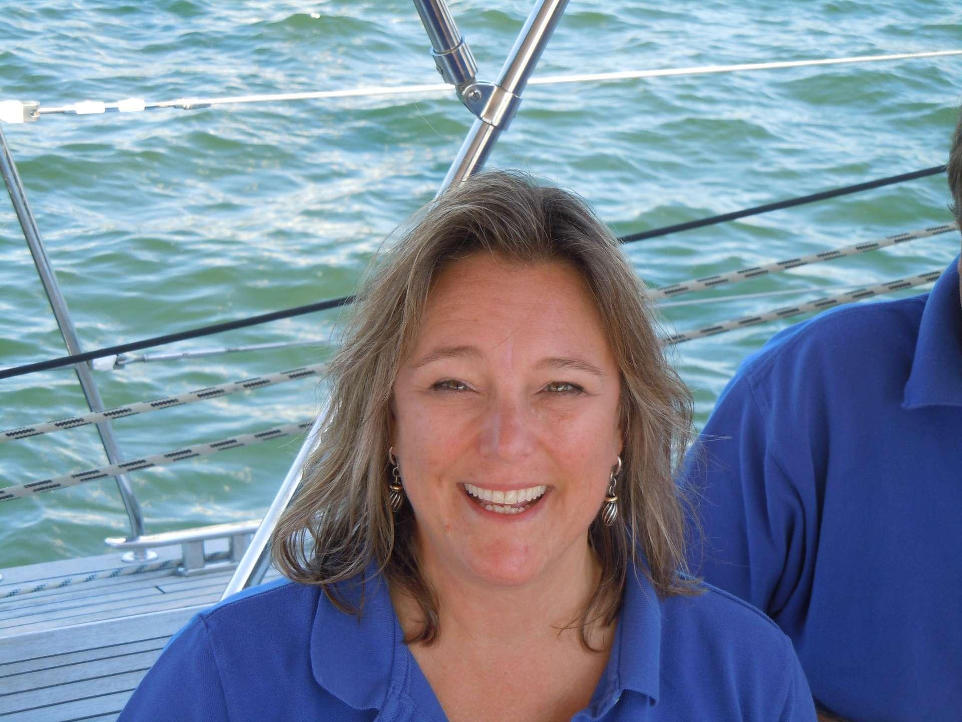 Dina Hickman Mate/US Captain/Stew