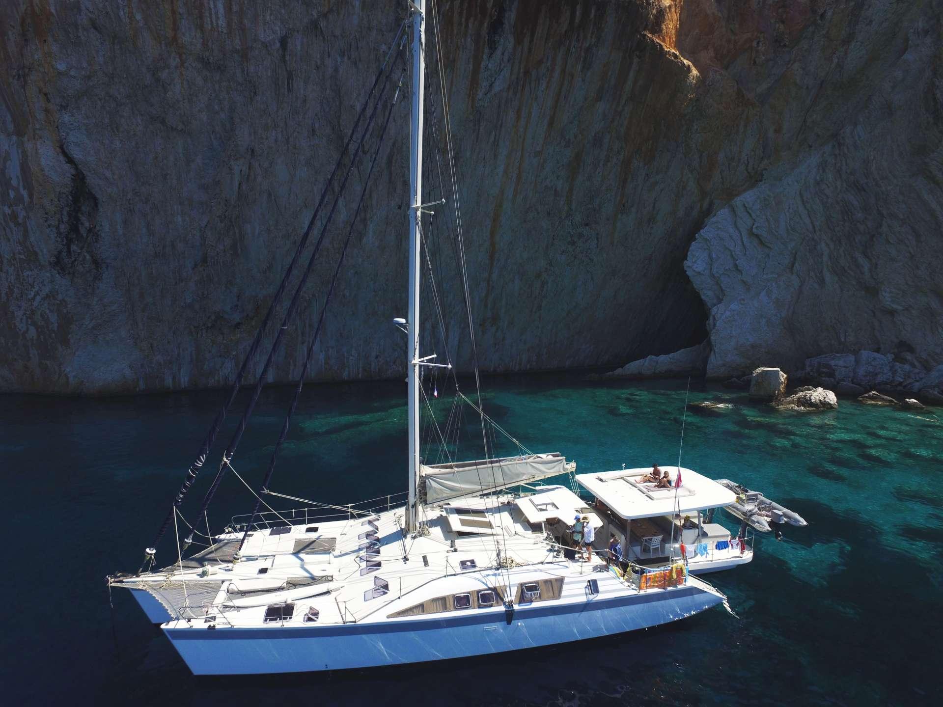 Catamaran Charter Conan