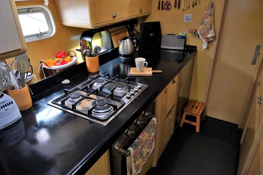 The galley where the magic happens