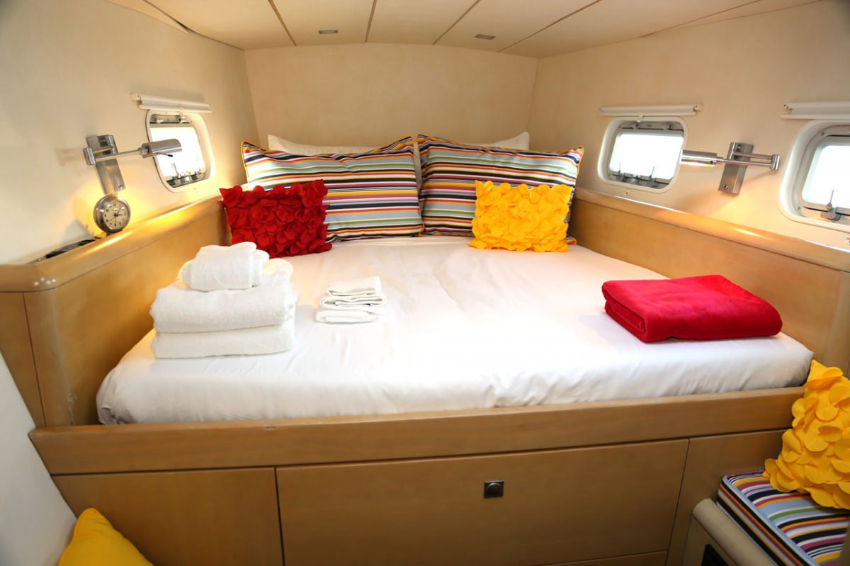 Guest stateroom #1 (starboard forward)