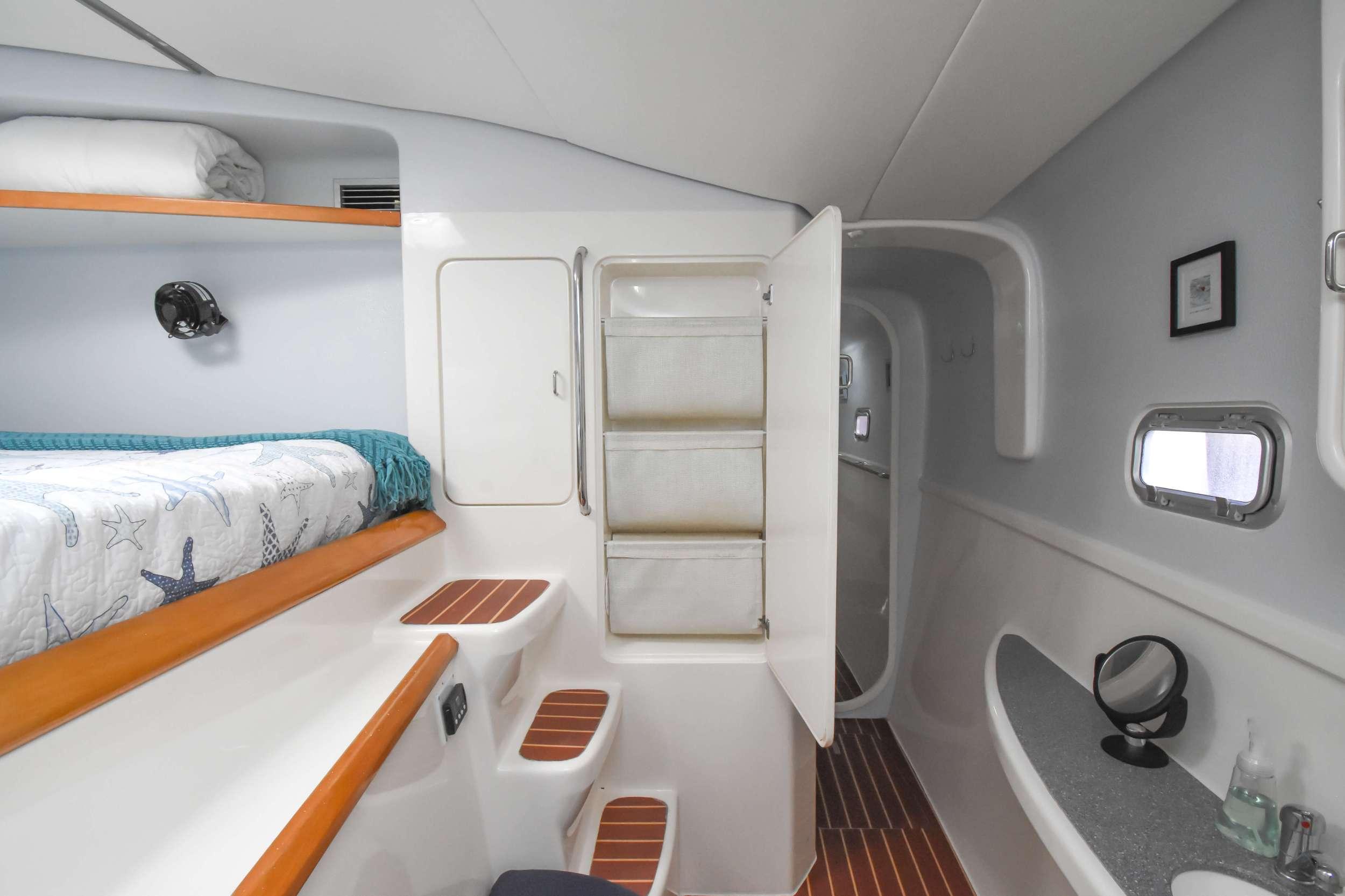 A sunset swim