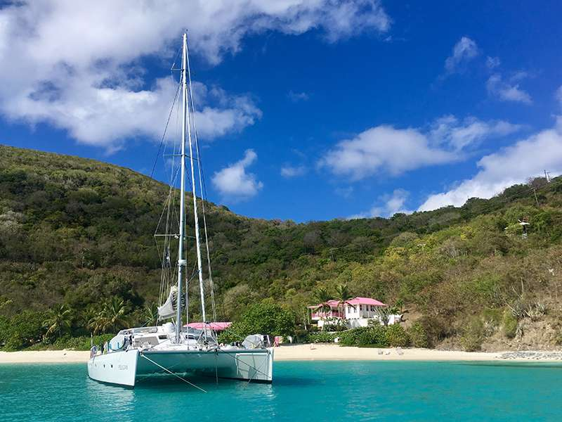 Anchored on White Bay, Jost Van Dyke