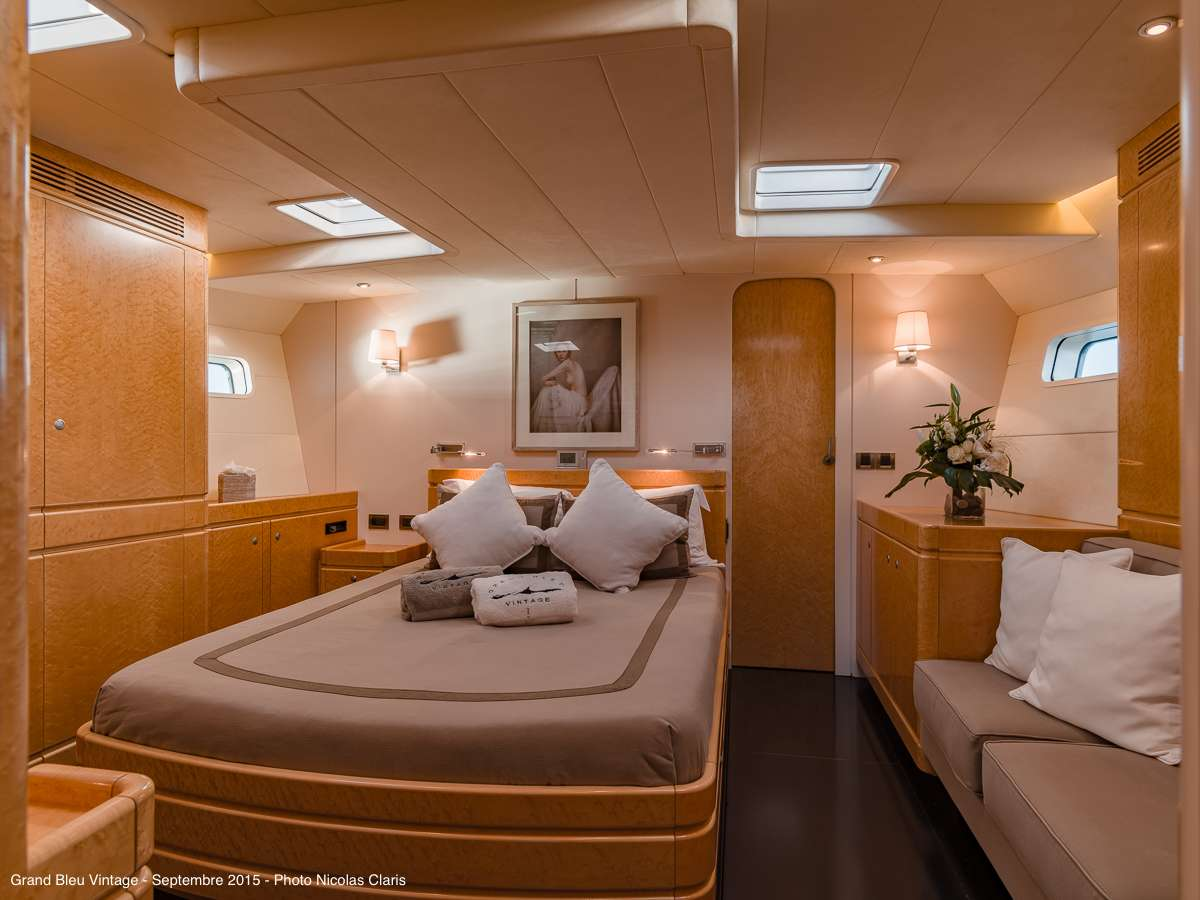 The master cabin