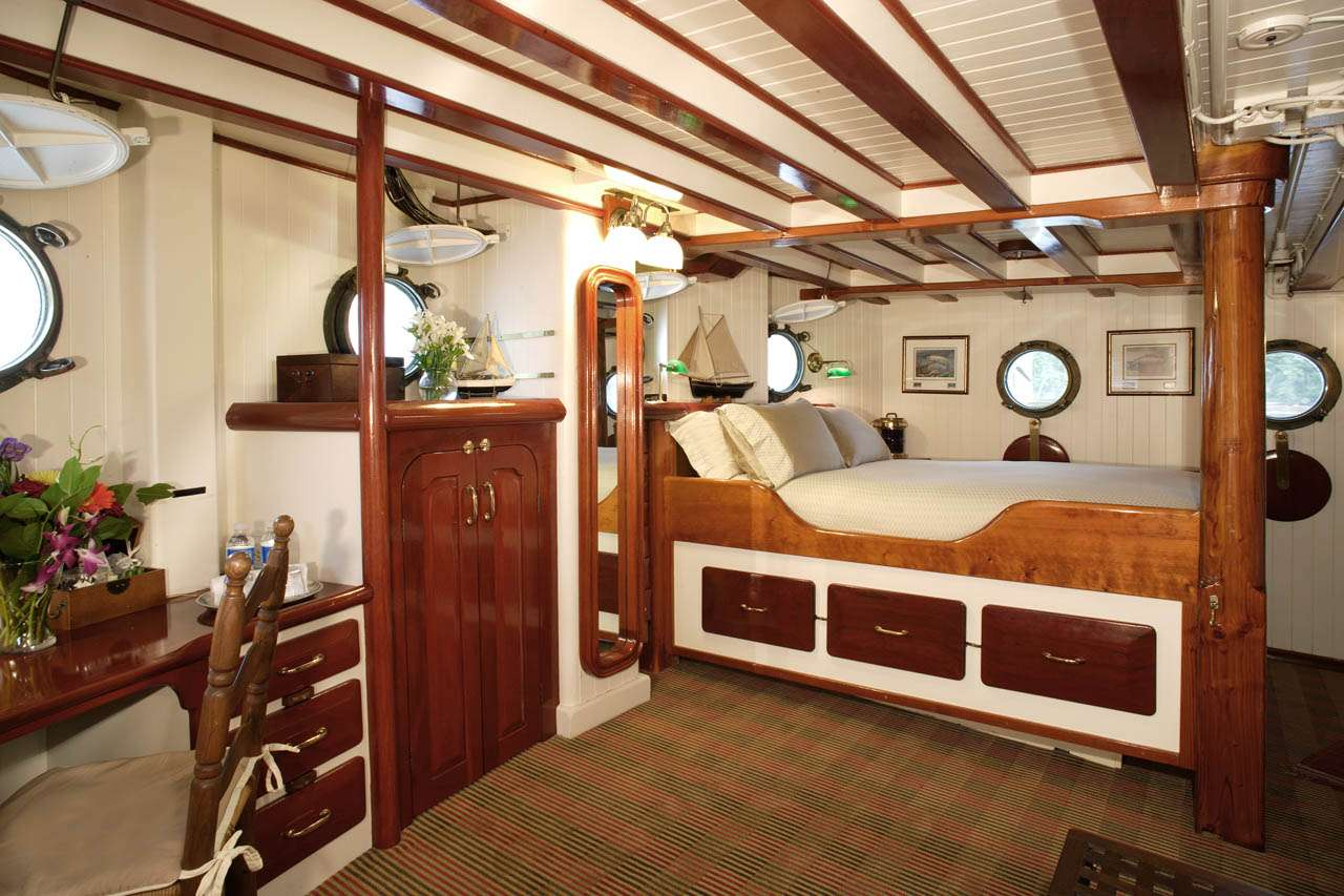 Master Stateroom on Main Deck
