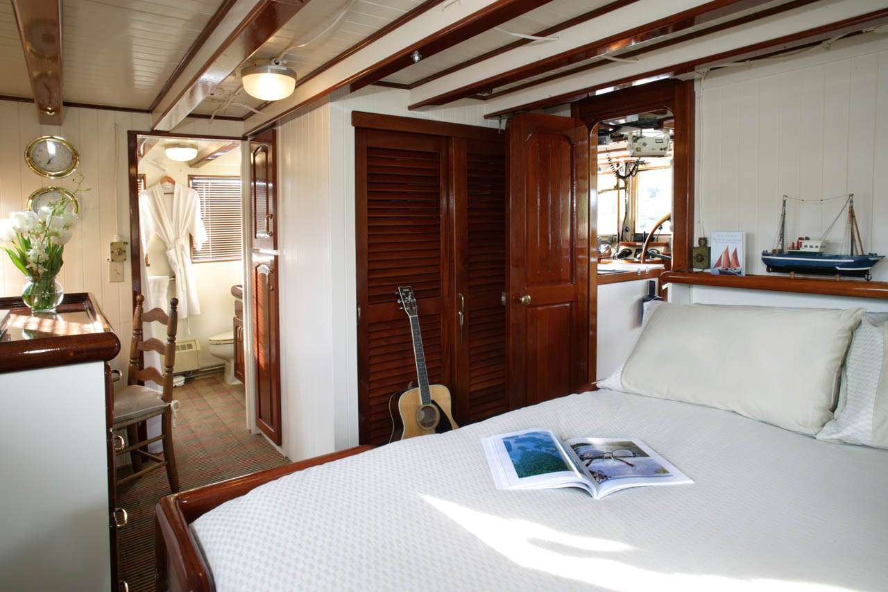 VIP Stateroom on Top Deck