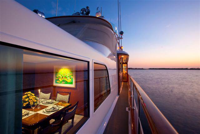 motor yacht PYEWACKET