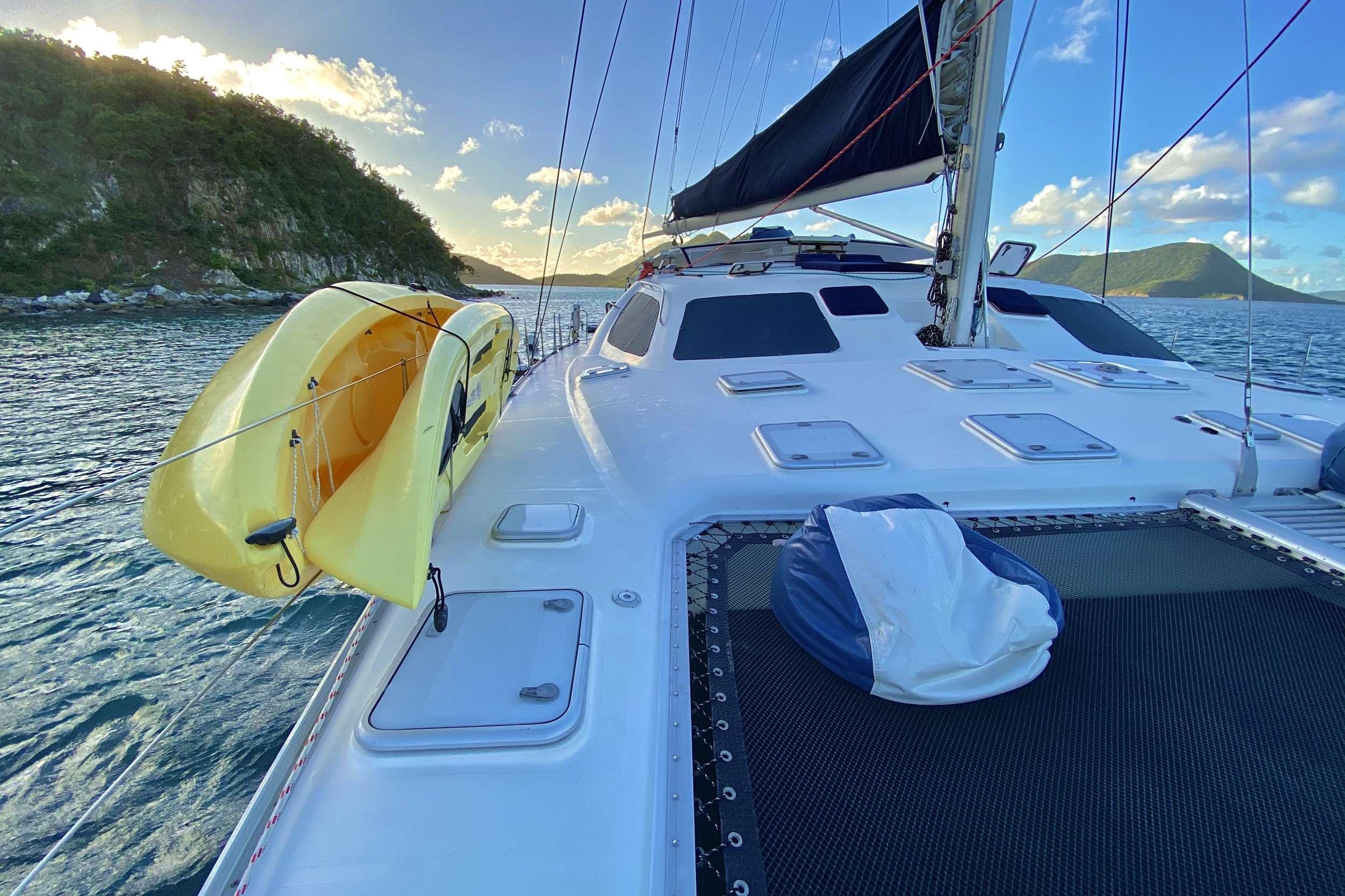 Guests enjoying a day of sailing