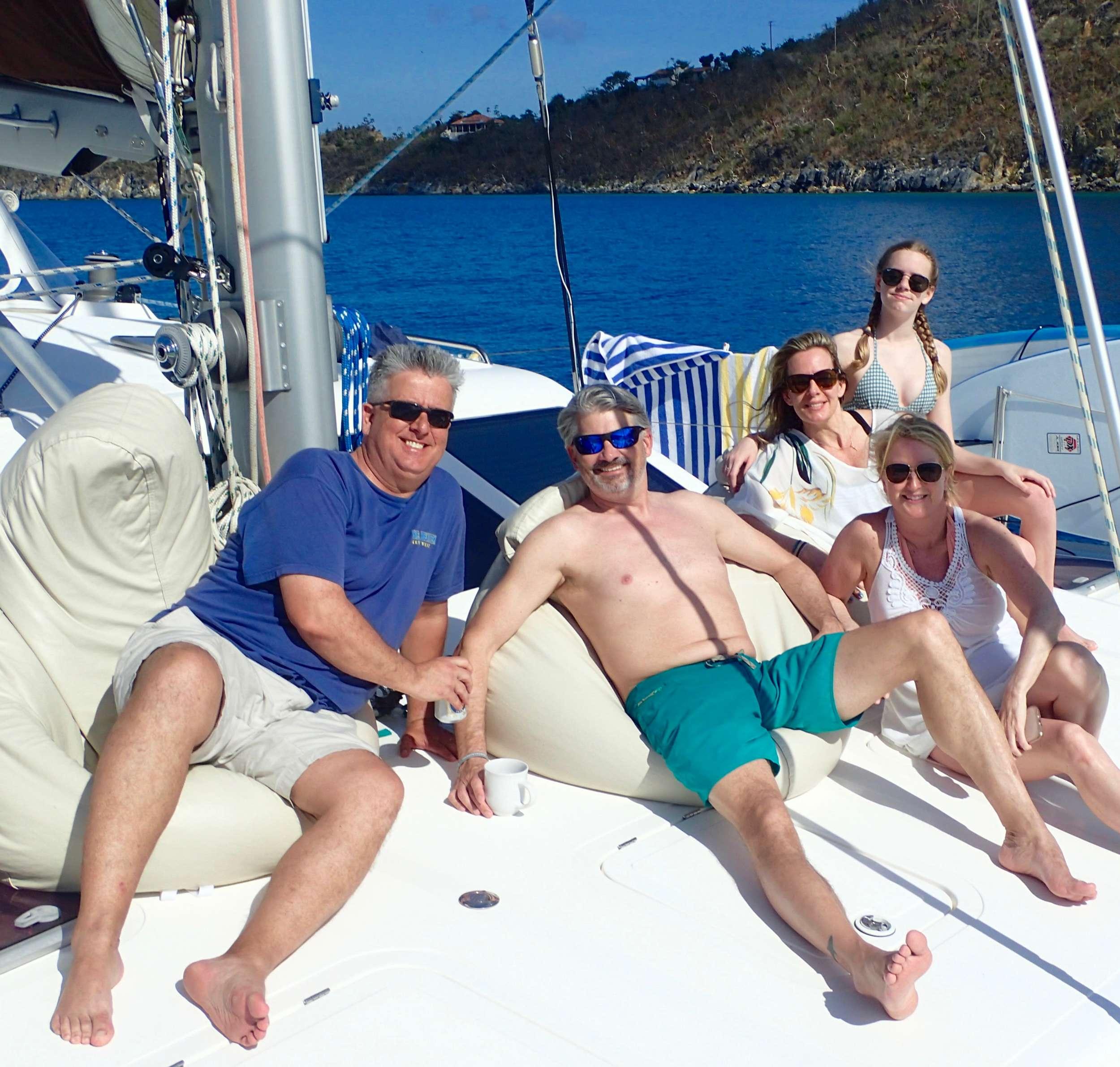 Catamaran Charter Nutmeg