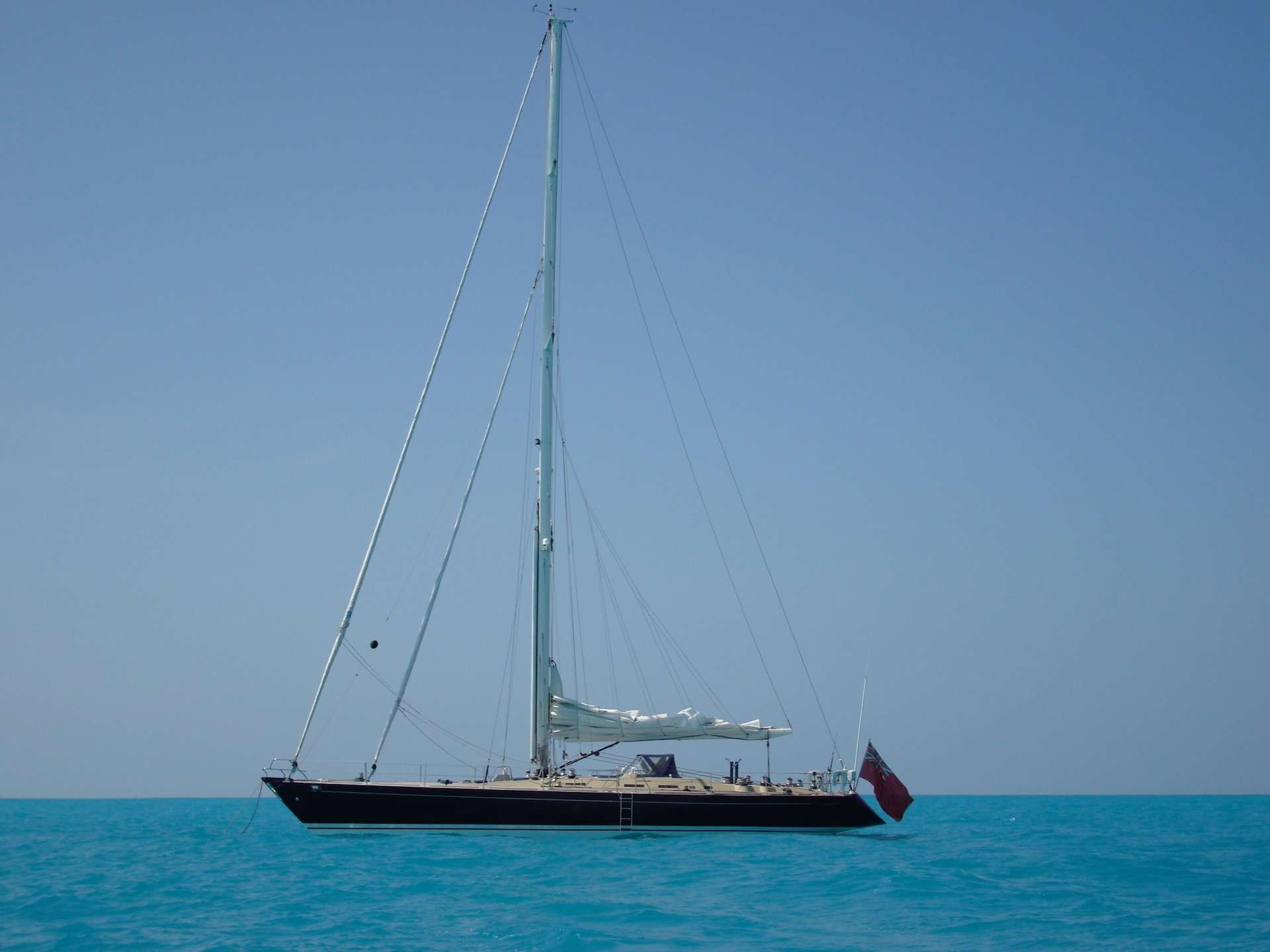 Anchored in the BVI