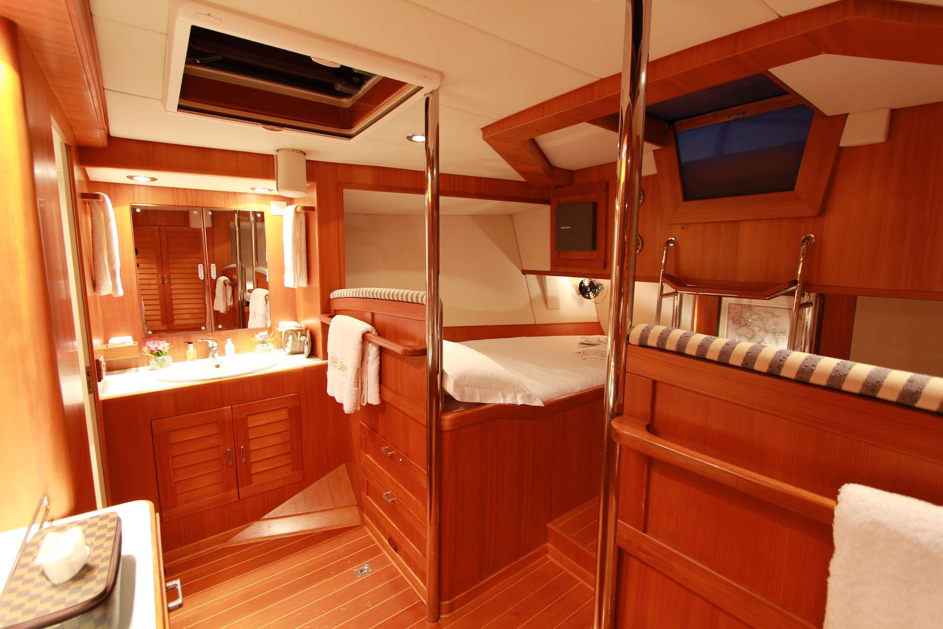 Master Stateroom w/ Two Double Beds